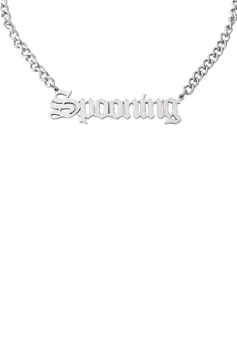 SPOONING ⌇ SPOONING NECKLACE