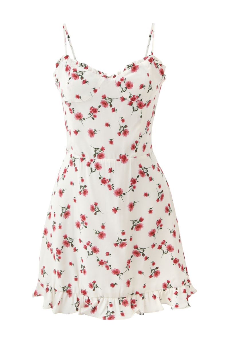 SPOONING ⌇ WILD FLOWER DRESS